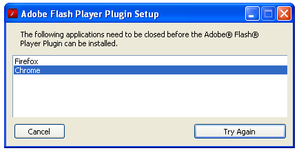 adobe player google chrome