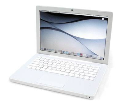 Apple macbook front