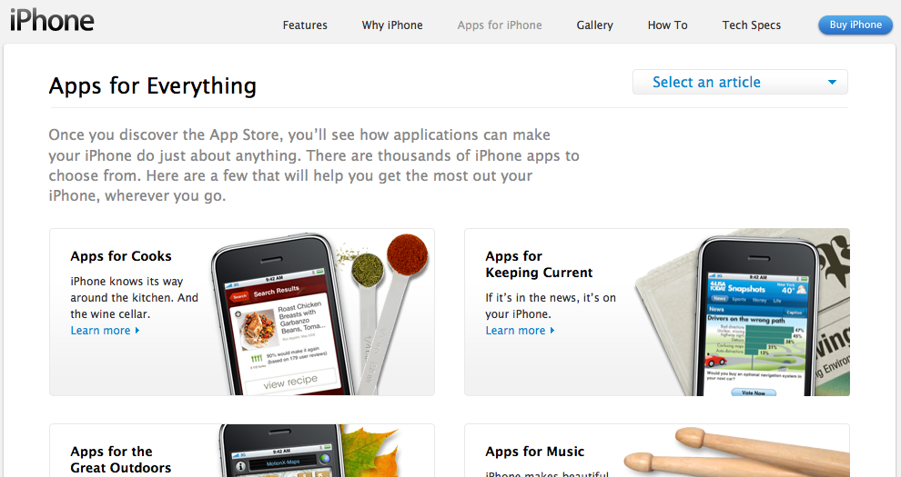 apple apps for everything