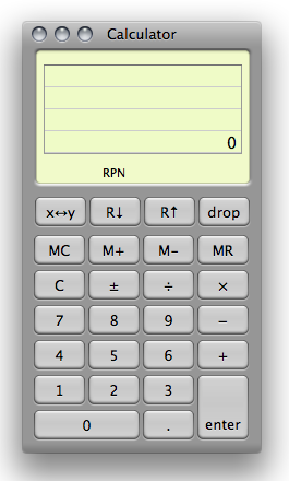 calculator rpn mode