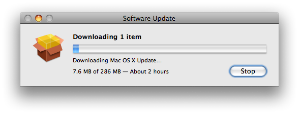 downloading mac update