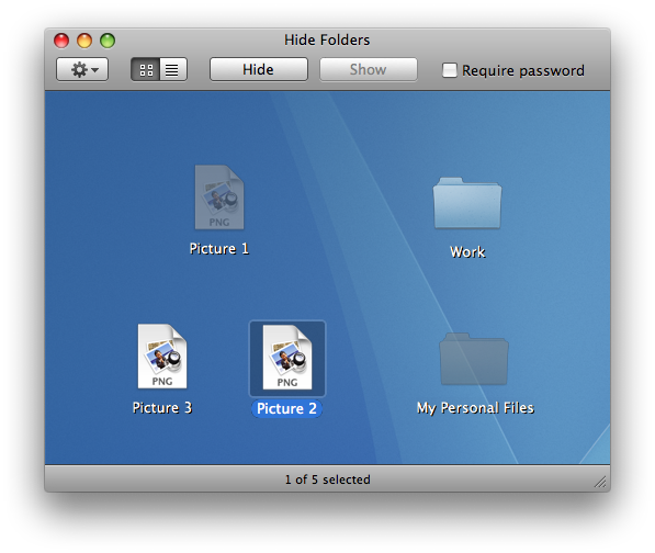 My hidden folder pro