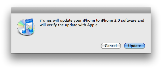 iphone 3.0 update