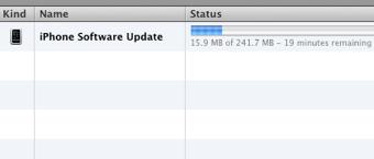 iphone 3.1 OS