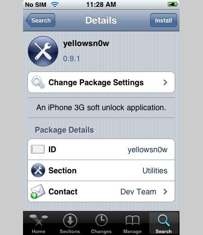 yellowsn0w page