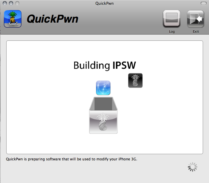 building ipsw iphone