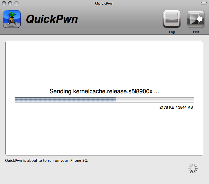 iphone sending kernel cache