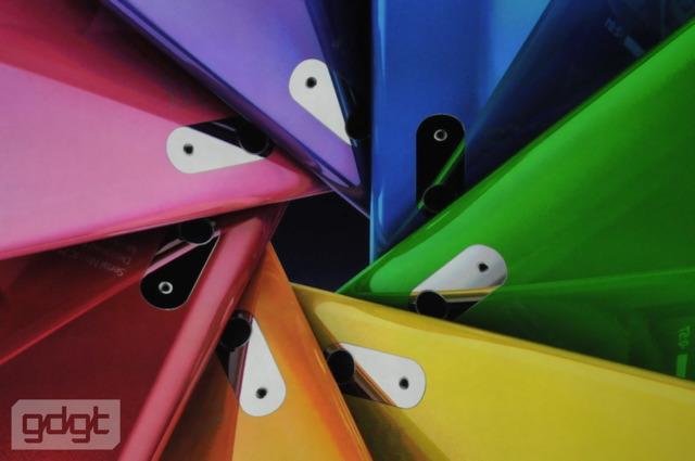 ipod nano colors