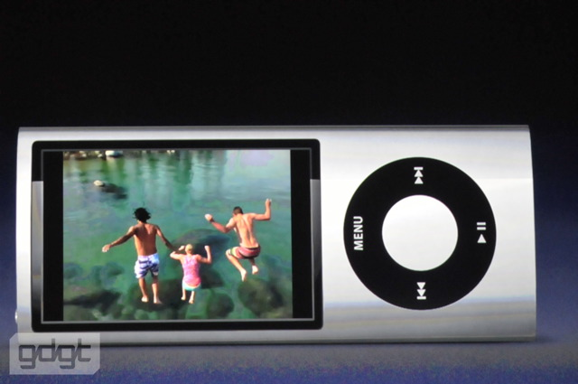 ipod nano video demo