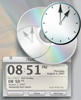Alarm clock for Mac – iTunes Alarm