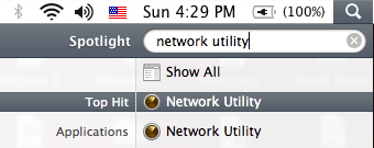 network utility