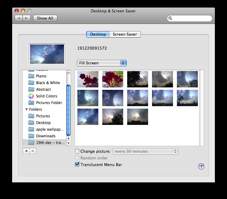 new folder import background