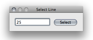 textedit select line