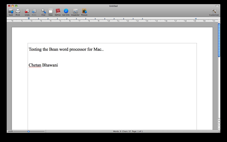 bean mac app