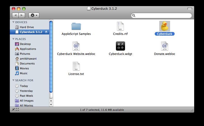 cyberduck ftp install
