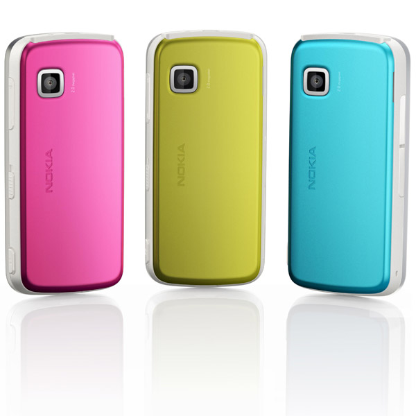 nokia 5230 colors