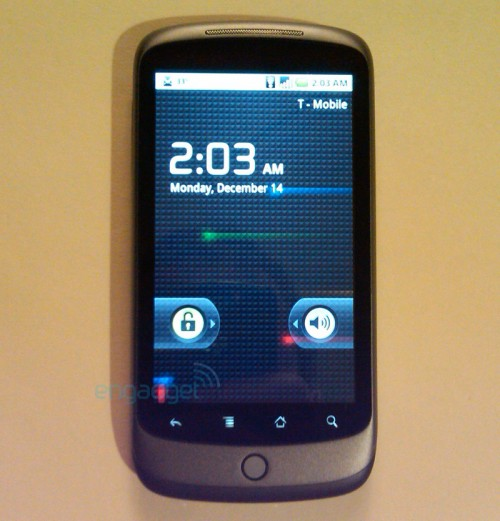 Google Nexus One phone release date & price details
