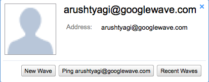 google wave contacts added