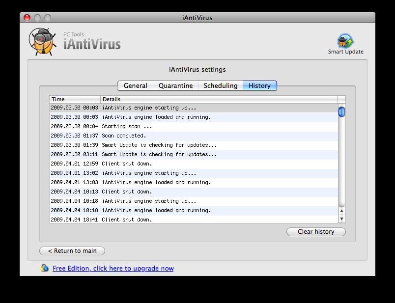 iAntivirus Virus Scan Mac