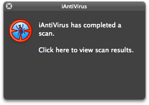 iAntivirus Mac Scan