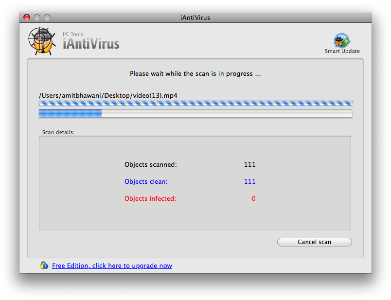 iAntivirus Virus Scan Mac