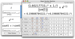 Magic Number Machine Application for Apple Macbook