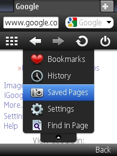 opera mini 5 options