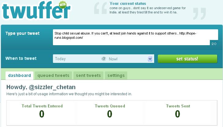 schedule tweets twuffer