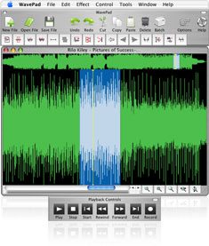 Complete sound editor for Mac and Windows – Wavepad
