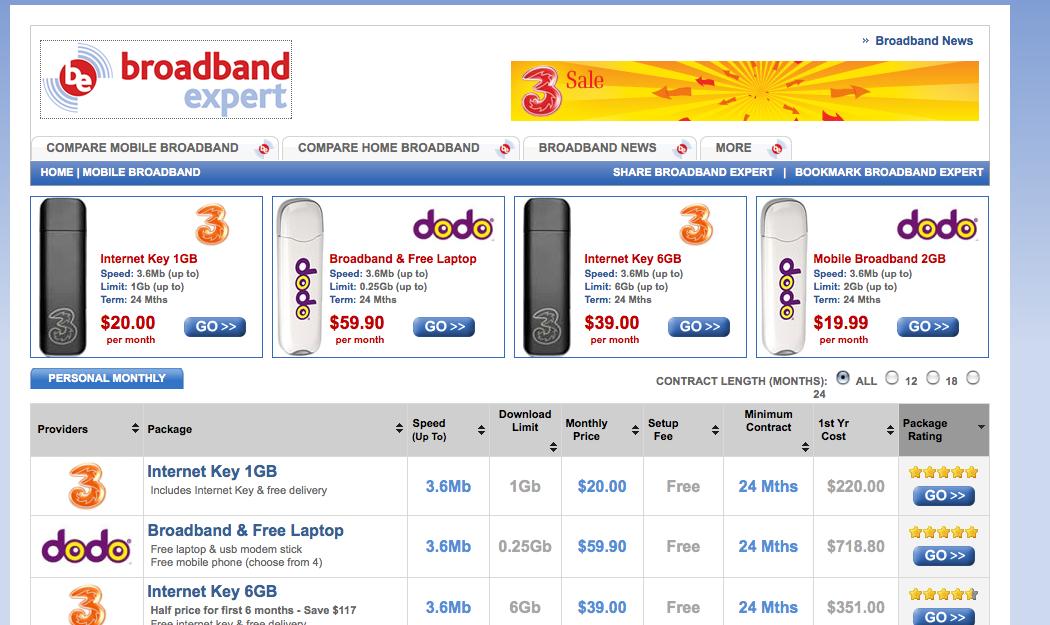 broadband expert site
