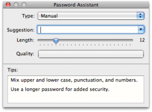 mac password assistant