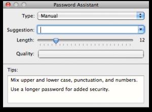 mac password assistant
