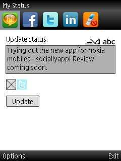 socially app tweet
