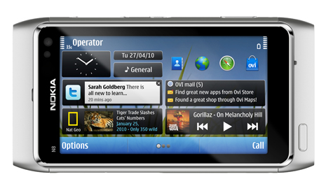 Nokia N8 mobile phone revealed – Features, pics, pricing