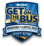 Free Windows 7 Ultimate given in Microsoft Bus Tour