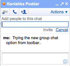 Gmail chat makes Video chat, voice chat, group chat easier