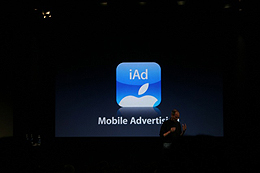 iAds – Apple advertising system in iPhone, iPod touch