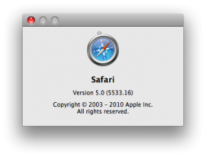 How to install extensions in Safari 5 browser – Mac