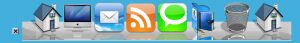 Mac OSX Dock WordPress Icons