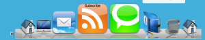 Mac OSX Dock WordPress Icons Final