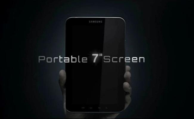 samsung galaxy pad screen