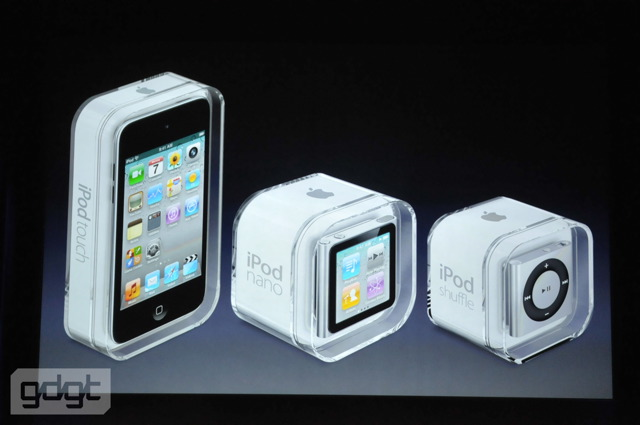 new ipod device packs