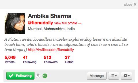 new twitter profile bar
