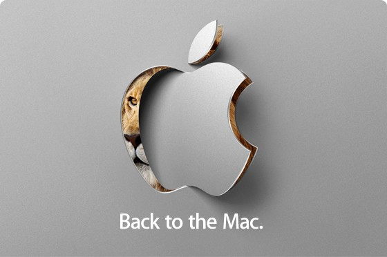 apple back to the mac event