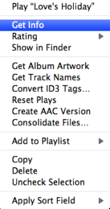 Volume iTunes