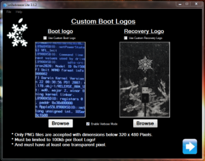 custom boot logo