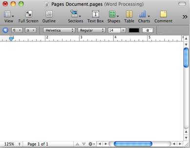 how to delete a page on apple word