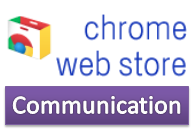 Chrome web store Communication