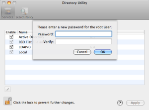 Directory Utility tool