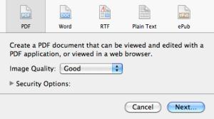 PDF type